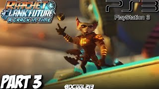 Ratchet & Clank Future A Crack in Time Gameplay Walkthrough Part 3 - Molonoth Fields - PS3 Lets Play