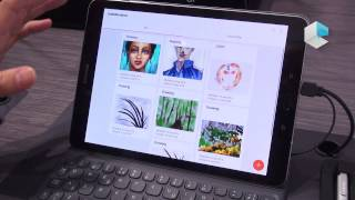 Samsung Galaxy Tab S3 and Samsung Flow