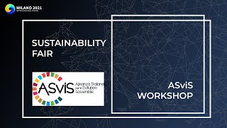 Sustainability Fair | ASviS Workshop