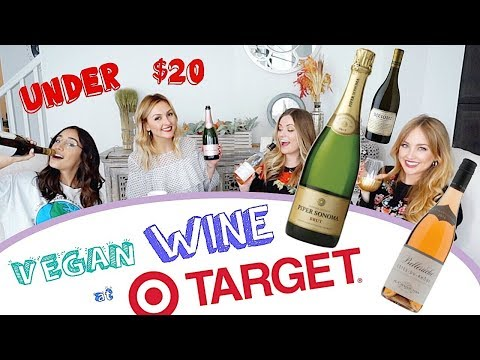 3 Awesome VEGAN WINES from TARGET! Under $20 dollars