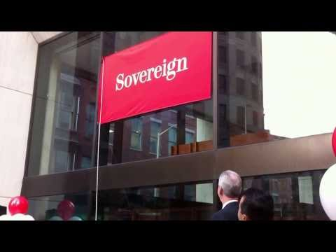 Bank changes its name from Sovereign to Santander