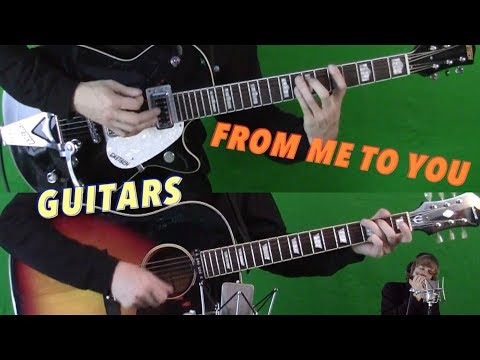 From Me To You - Isolated Guitars and Harmonica - See How It