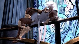 God of War 3 Remastered: Hermes Boss Fight PS4 (1080p 60fps)