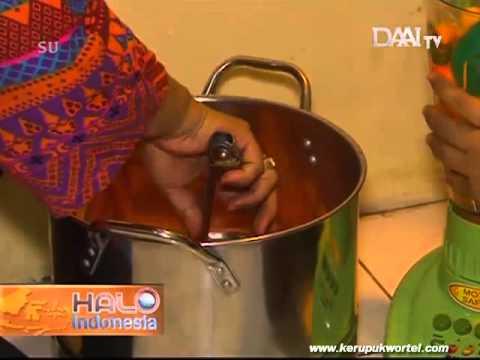Profil Ika Iki Kerupuk wortel produk UKM usaha kecil menghasilkan