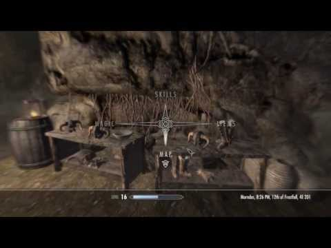 Skyrim - The Only Cure - Tutorial On How To Get Items - HD
