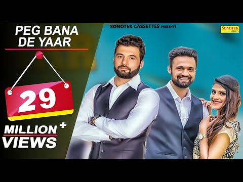 Peg Bana De Yaar | Harry Dagar | Jai Harsh | Latest Haryanvi Songs 2018 | New Haryanvi Song 2018