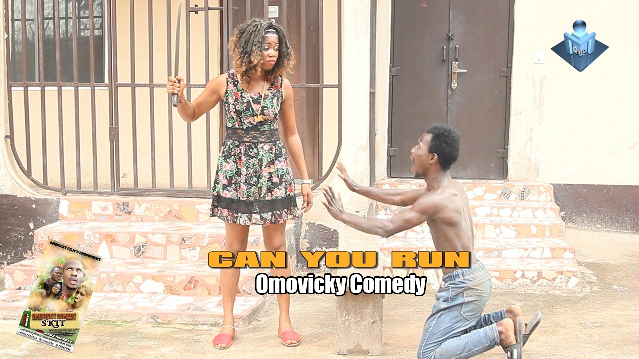 Omovicky Comedy Skits Episode 4 :- (CAN YOU RUN) - Naija Comedy