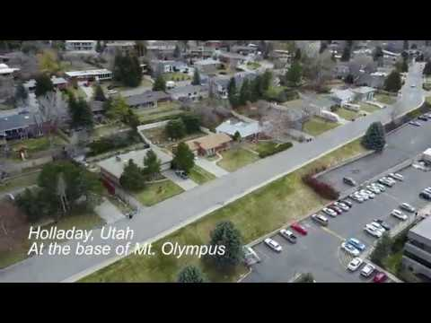 Holladay, Utah  Drone Footage