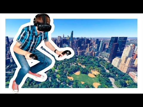 ПОПАСТЬ В ЛЮБОЕ МЕСТО НА ЗЕМЛЕ! | Google Earth VR