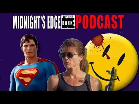 Linda Hamilton Returns, Superman TV Version, Watchmen on HBO-Midnight