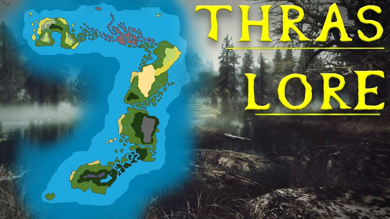 Thras - What Is It Like? Elder Scrolls Lore - YouTube