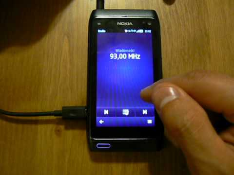 NOKIA N8 SYMBIAN - FM radio with RDS, DESCRIPTION, SETUP, ADD ...