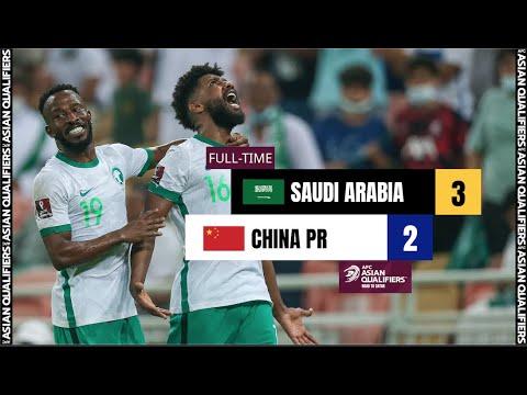 #AsianQualifiers - Full Match - Group B   Saudi Arabia vs China PR