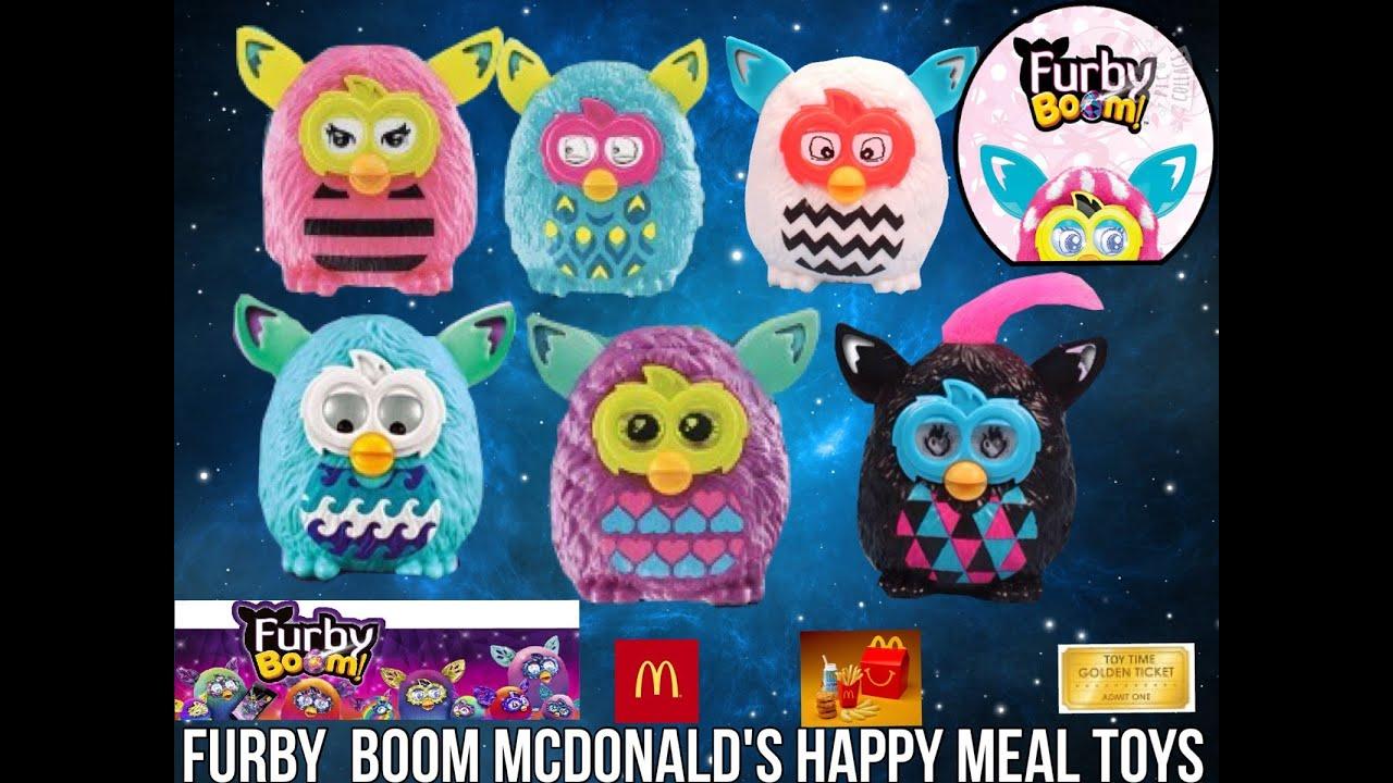 Mcdonald S Happy Meal Toys 2013 : Furby boom full set of mcdonalds happy meal toys