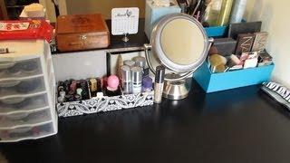 Vanity & Makeup Storage Makeover