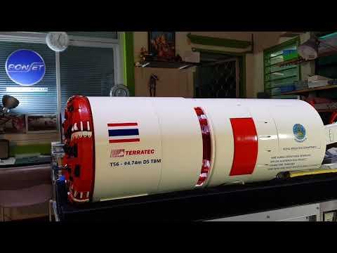 โมเดลเครื่องจักร TBM TERRATEC LTD.
