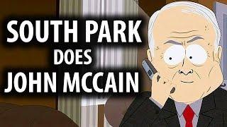 South Park Does John McCain vs Obama & Ocean's 11 Explained