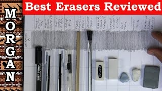Ultimate Pencil Eraser Review - Mono zero, Derwent, Faber Castell + more