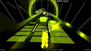 Darude - Sandstorm - Audiosurf 2 (High Score)