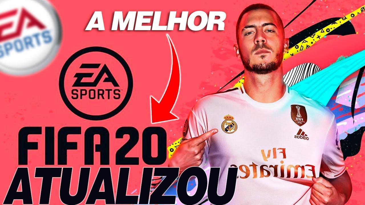 FIFA 20 |⚡ A MELHOR ATÉ AGORA - 19º ATUALIZAÇÃO FIFA 20 CHEGOU ✔️ || LINKER ||