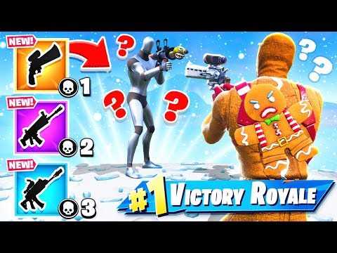 SCOPED Revolver MODDED Gun Game *NEW* Game Mode in Fortnite Battle Royale