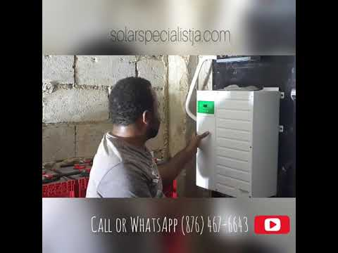 Totally Off-grid with Solar Energy 8KW Westmoreland Jamaica