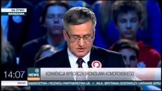 Konwencje kandydatow na prezydenta RP, wybory 2015 cz.2