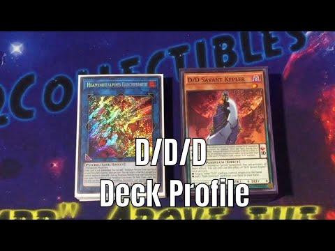 YUGIOH! *IN-DEPTH* DDD Deck Profile March 2018