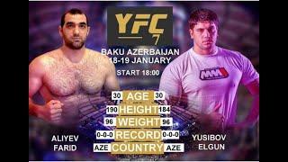 ALIYEV FARID VS YUSIBOV ELGUN