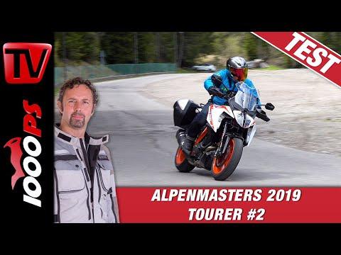 KTM 1290 Super Duke GT 2019 Test beim Alpenmasters Vergleich - Tourer Folge 2/4