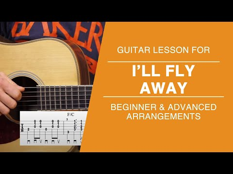 Ill Fly Away Carter Style Guitar Lesson