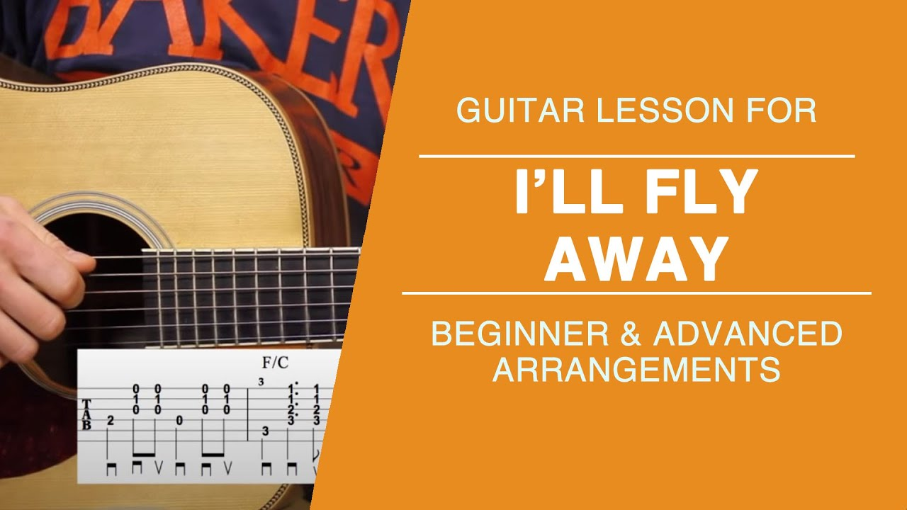 Ill Fly Away Carter Style Guitar Lesson Youtube