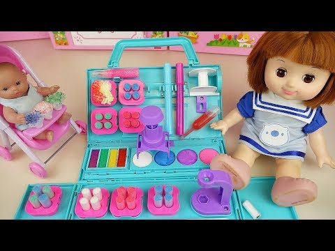 Baby Doll color cotton coloring play baby Doli story