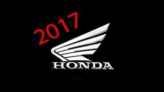 МОТО новинки HONDA  2017, цены на мотоциклы в Германии