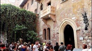 #1157 ROMEO & JULIET - True VERONA ITALY Locations - Balcony/Tomb - Shakespeare - Travel (10/7/19)