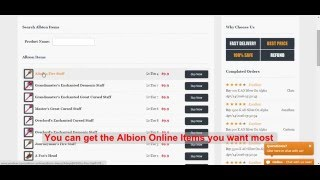 AOSilver - an reliable and professional Albion Online Silver store
