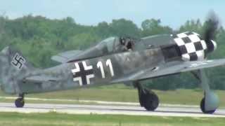 Focke Wulf FW-190 Hamilton Air Show 2013