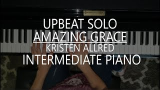 Amazing Grace - Piano Solo + Sheet Music + mp3 by Kristen Allred
