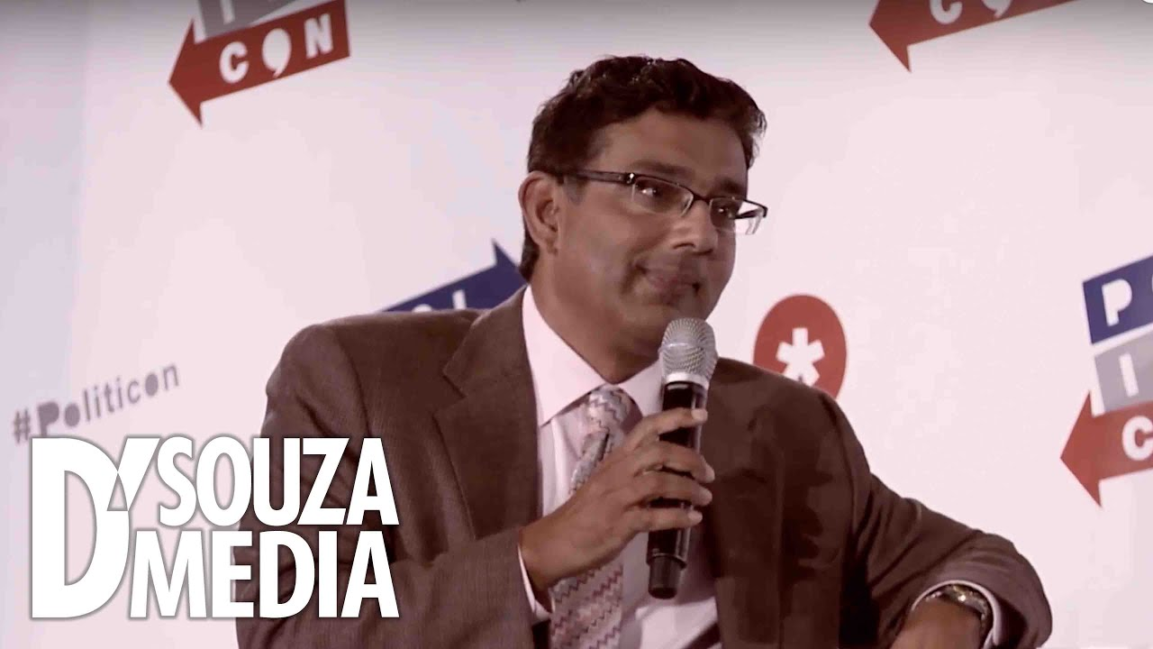 """Dinesh D'Souza destroys """"The Young Turks"""" host Cenk Uygur at Politicon 2016"""