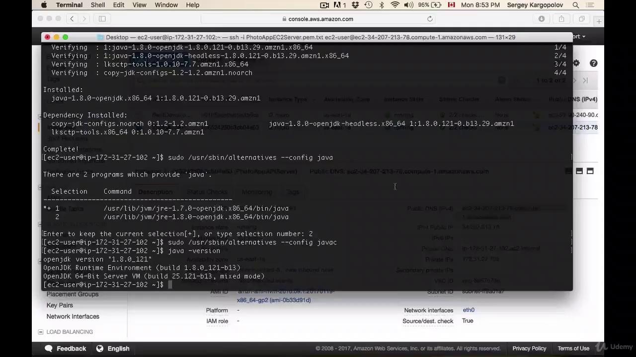 REST API with Java JAX-RS - 64 - Install Apache Tomcat on Amazon AWS EC2  Linux Instance