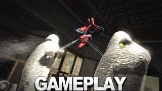 The Amazing Spider-Man Gameplay - Stealth Takedowns