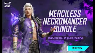 Merciless Spin Event Tutorial | Garena Free Fire