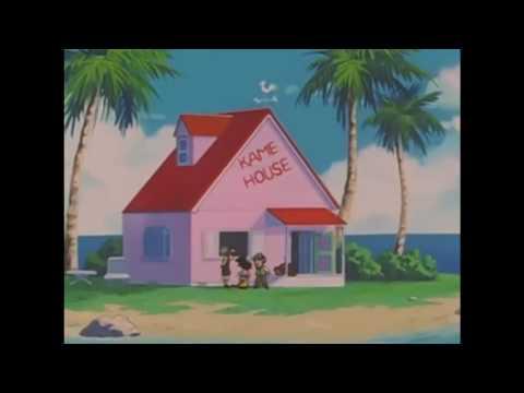 DBGT Goku's Final Visit To Master Roshi And Krillin