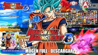 Dragon Ball Raging Blast 3 Mugen - Descargar