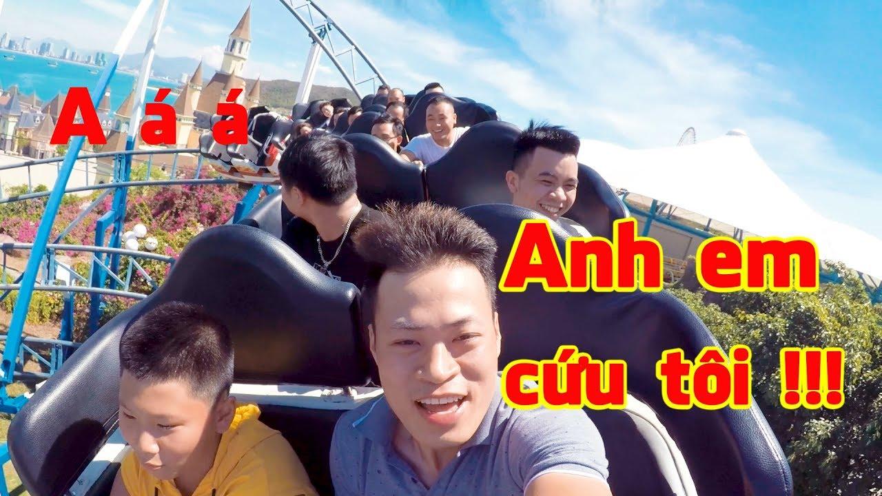 Thử chơi trò chơi CẢM GIÁC MẠNH tại Vinpearl Land Nha Trang
