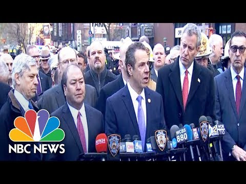 Governor Andrew Cuomo On NYC Explosion: 'We Are A Target' | NBC News