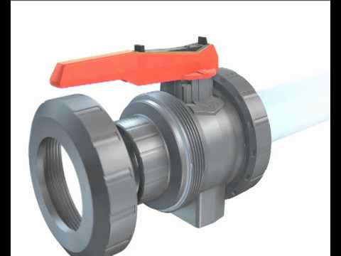 Ball Valve Type 546 - GF Piping Systems - English