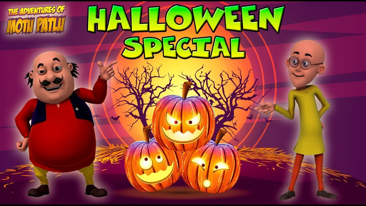 Motu Patlu  |  मोटू पतलू  | Motu Patlu Cartoon | Halloween Special