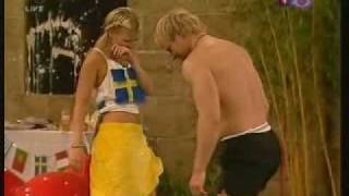 Repeat youtube video Big Brother UK 2004-Jason and Vanessa part 2
