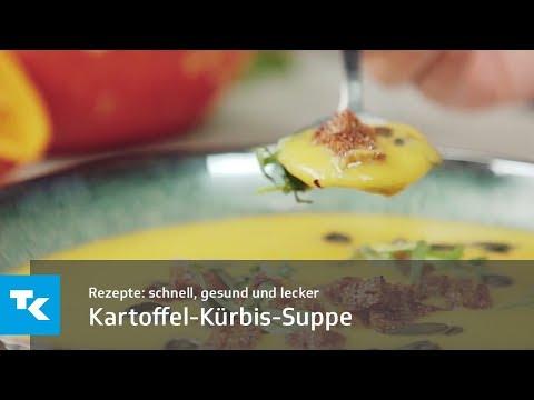 Kartoffel-Kürbis-Suppe